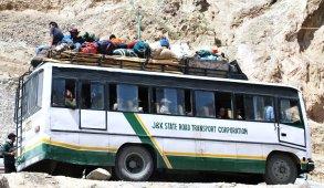 Ladakh Bus