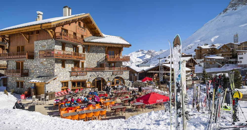 In the Shadows of Tignes