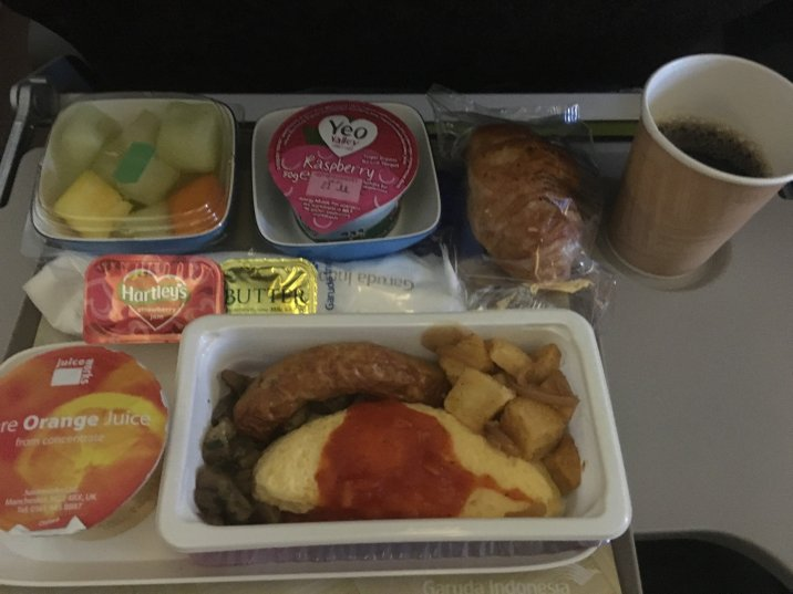 Flight food: GA 87 Review