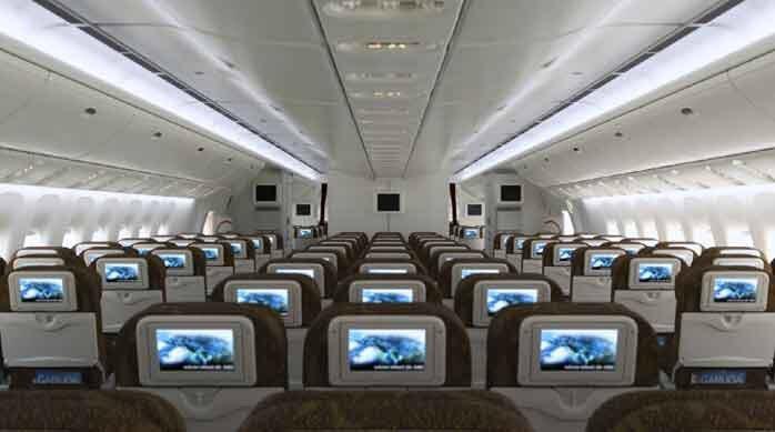 Flight interior: GA 87 Review