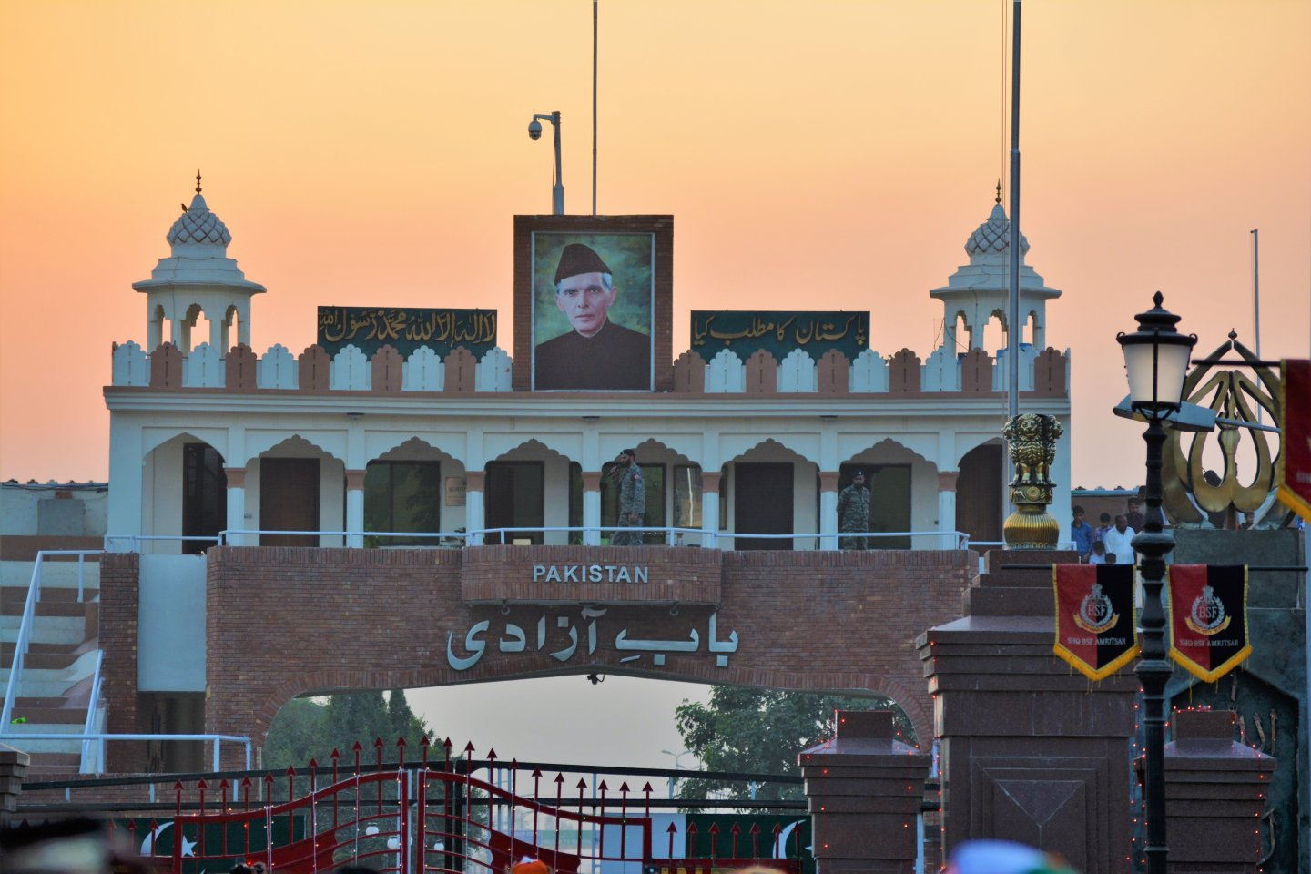Crossing the Wagah Border