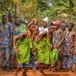 Dancing - Allada Festival, Benin