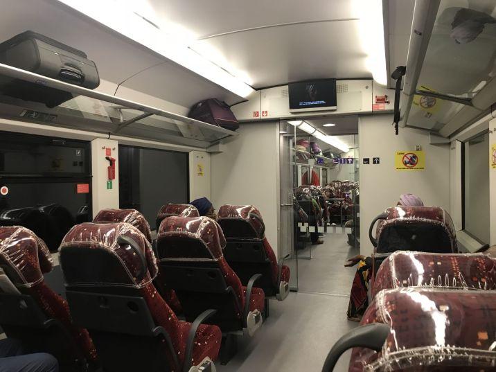 Trans Gabon Railway - Express - 1st Class