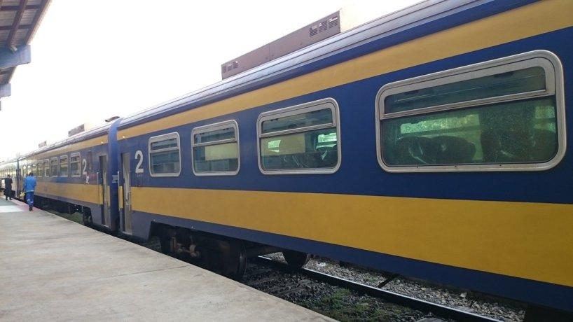 Trans Gabon Railway - Omnibus Exterior