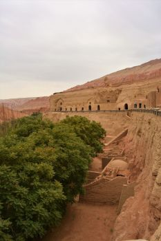 Bezeklik Thousand Buddha Caves, Turpan, Xinjiang, China