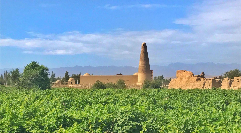 Turpan, on the Silk Road, China