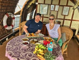 Kerala Houseboat - lunch