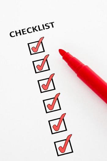 identity theft check list