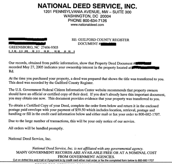 so how much does it cost to get a copy of your deed from national deed service they charge a whopping 5950 to obtain a copy of your deed but what makes