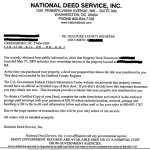 National Deed Service Scam – How To Get A Copy Of A Deed