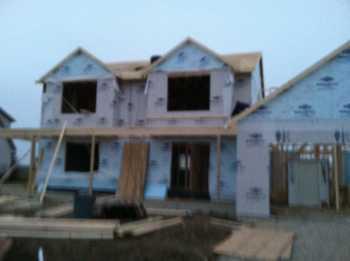 Frame the house