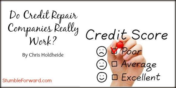 Do Credit Repair Companies Really Work