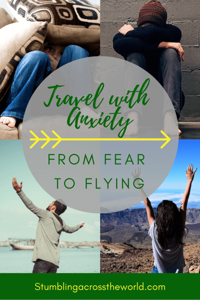 Travel with Anxiety Pin