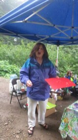 Thanks Heather - 12 years at this aid station!