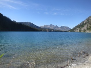 Colchuck Lake from down low