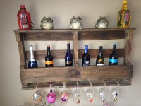 Homemade Wine Rack  find your happy place