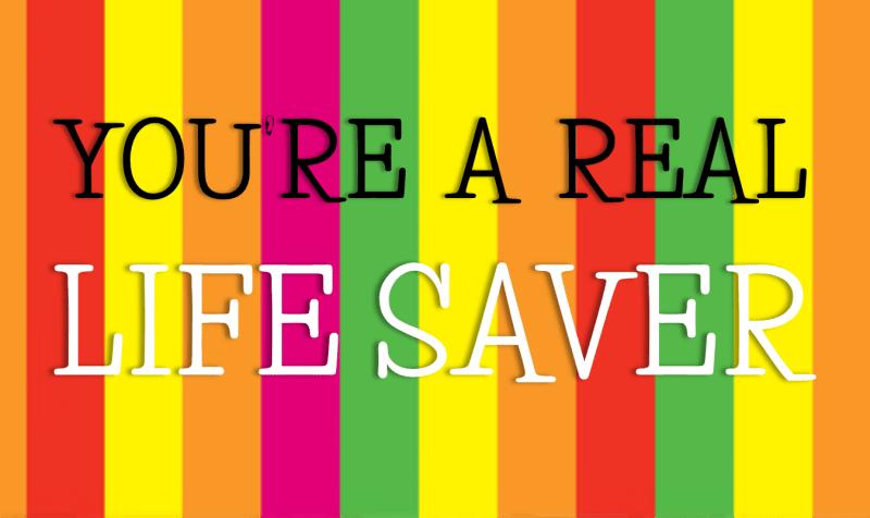 Top Ten Relay Games: #8- You're A Real Life Saver