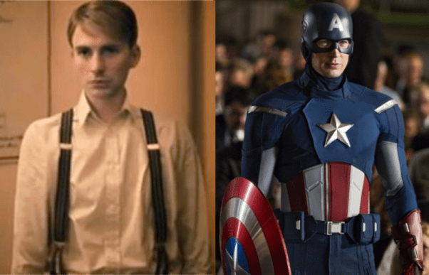 Before & After Steve Rogers Captain America
