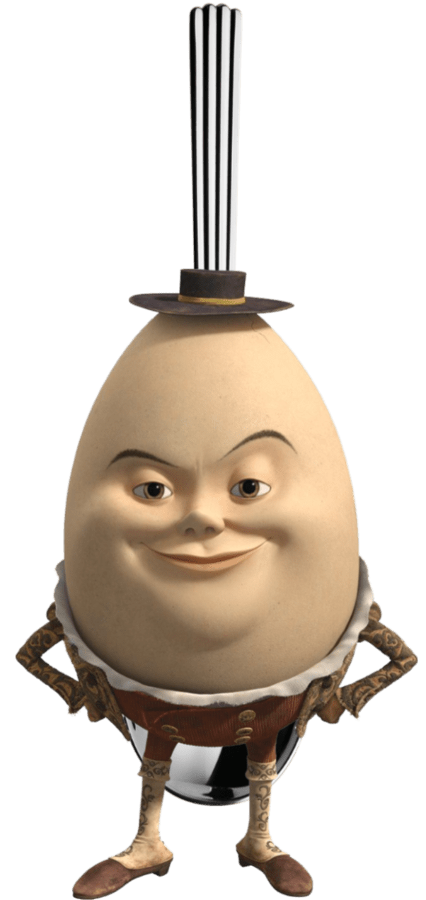 Humpty Dumpty Sat On A Spoon
