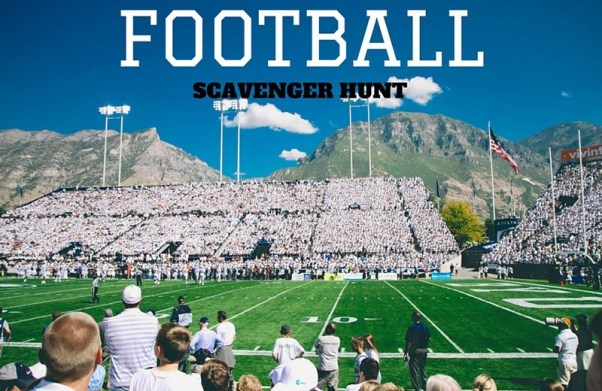 football scavenger hunt