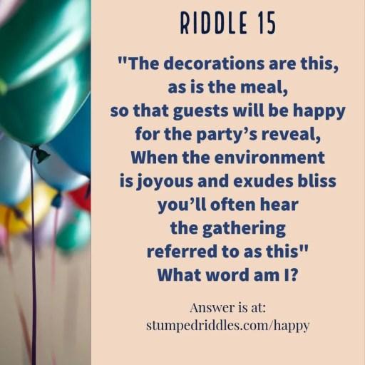 Riddle 15 on Stumpedriddles.com