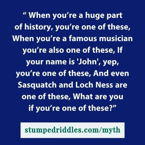 Stumped Riddles Number 2