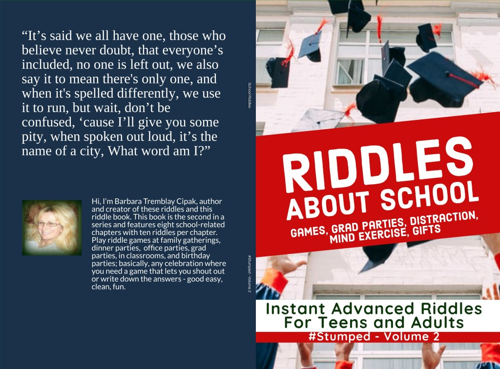 Riddles about School for Teens and Adults