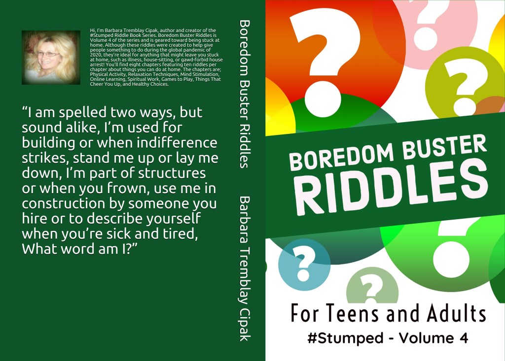 Boredom Busters - Stumped Volume 4