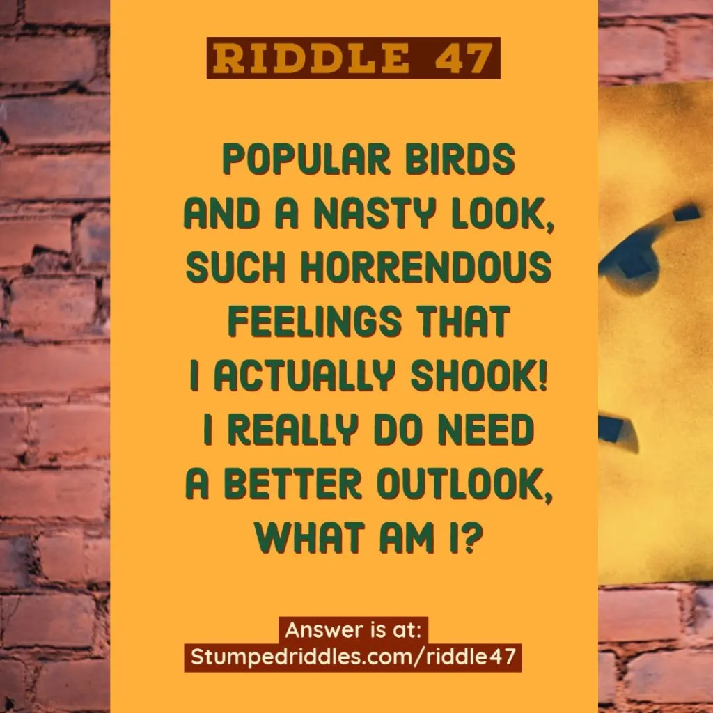 A Riddle with Expression - Riddle 47