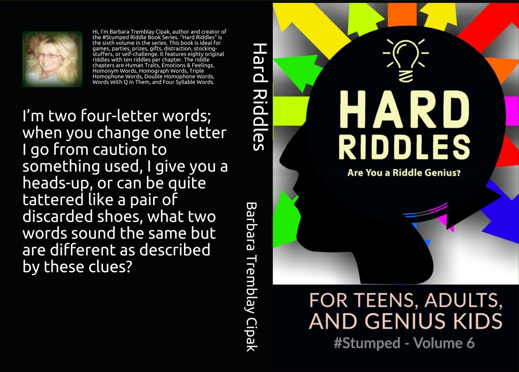 Hard Riddles for Teens, Adults and Genius Kids - #Stumped - Volume 6