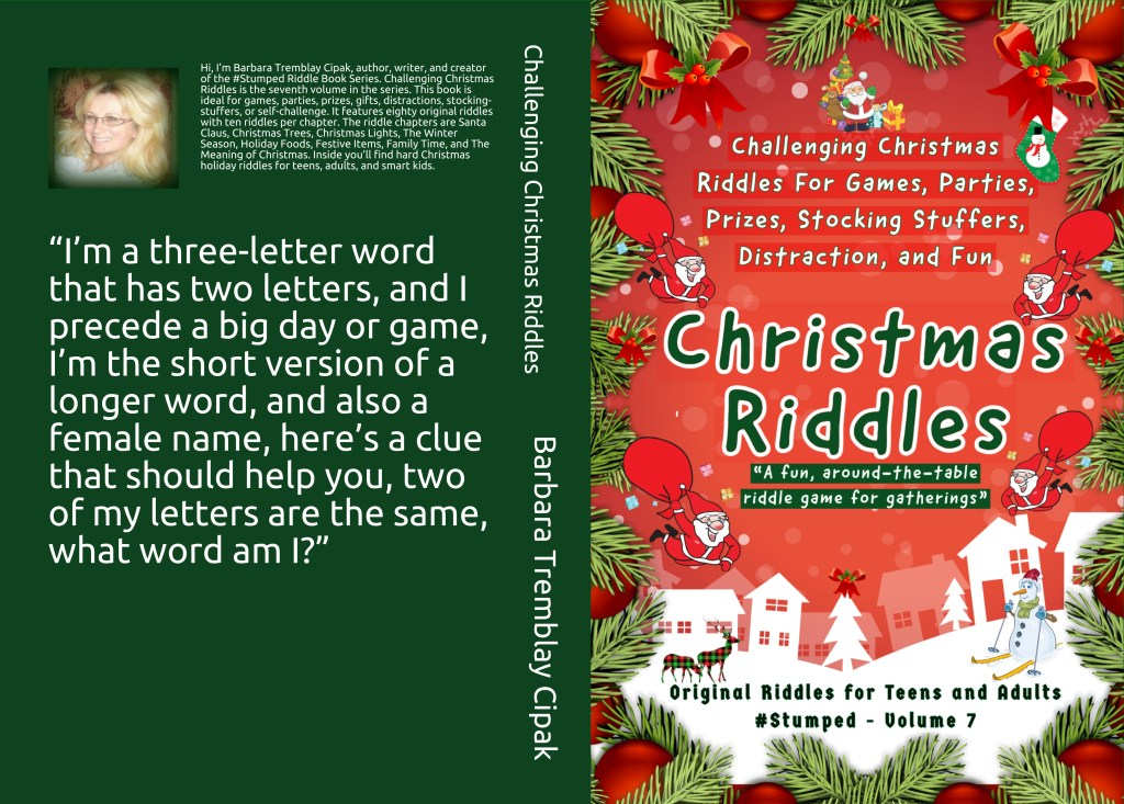 Christmas Riddles Book