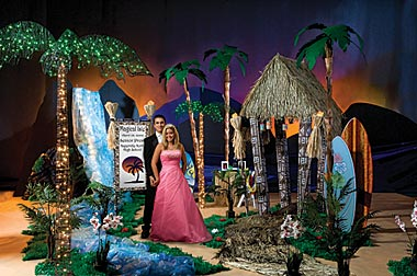 Set Sail to Fun with a Magical Isle Theme Prom  Prom Ideas  Event Ideas Decorations