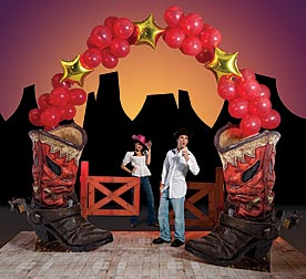 Create A Western Theme Homecoming Dance For Fun In The