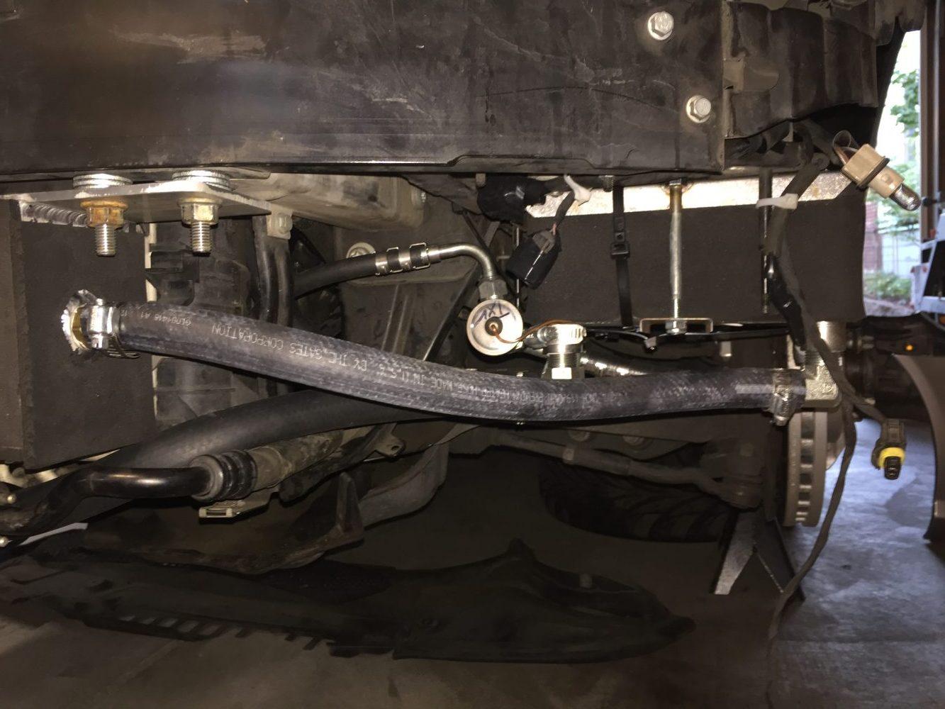 Killer Chiller and Front Mount Tank - Stumptown Benz