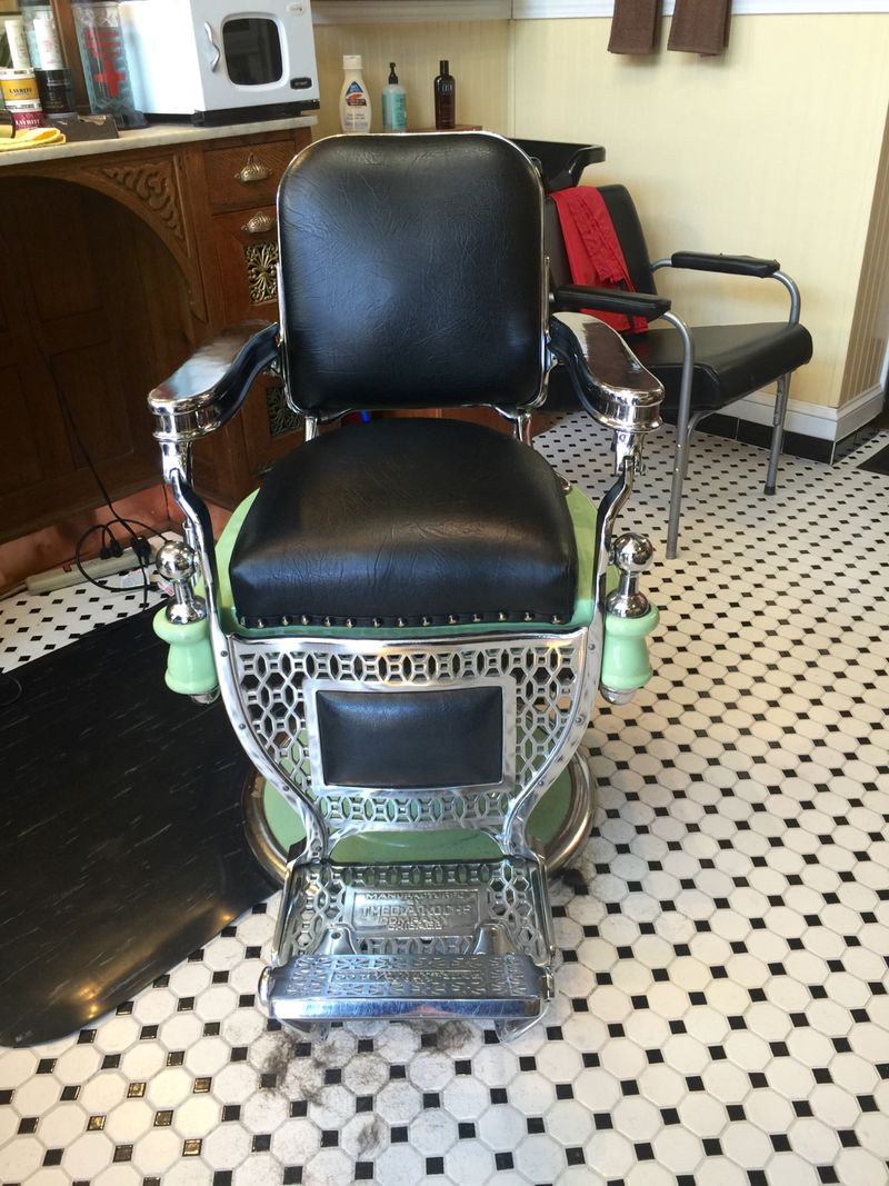 Koken Barber Chairs The Koken Story Vintage Barber Shops