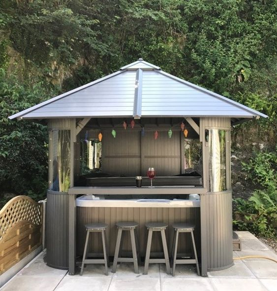 Hot Tub Backyard 23 Beautifully Cozy Ideas To Improve Your Home