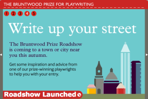 bruntwood prize for playwrighting