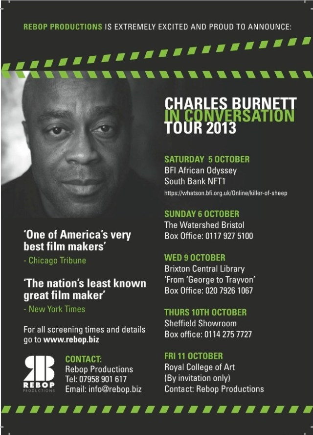 Charles Burnett UK Tour