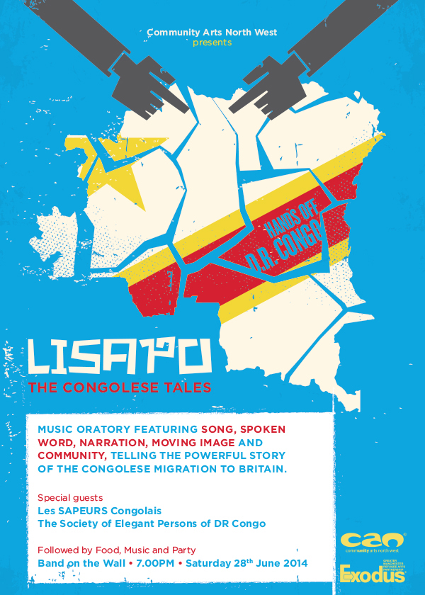 Lisapo event flyer - front