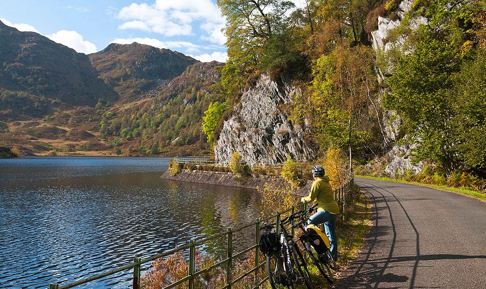 Loch Katrine by bike