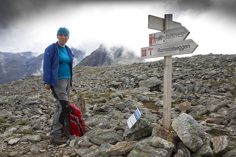 Romsdalseggen hike