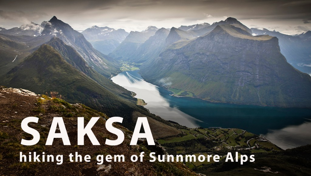 saksa hiking the gem of sunnmore alps