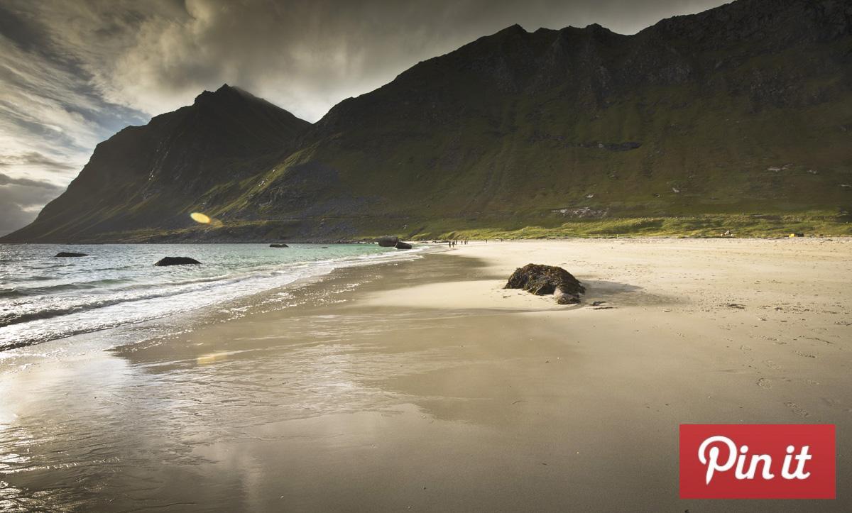 Haukland Uttakleiv Beach Lofoten