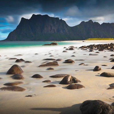 Haukland Beach and Uttakleiv Beach in Lofoten