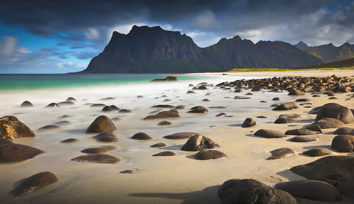 haukland beach lofoten