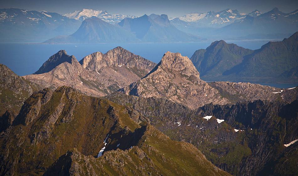 Matmora Lofoten, summit views
