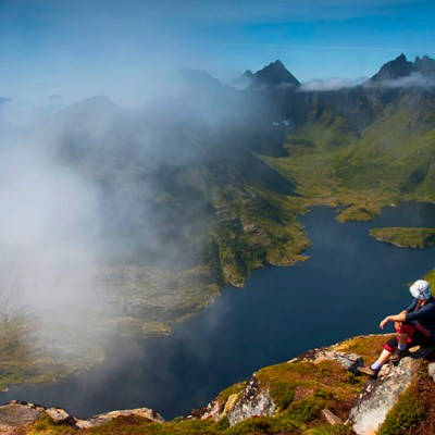 Surprised by Tindstinden in Lofoten – much more than just a viewpoint