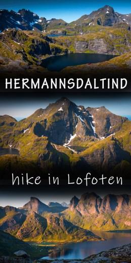 Hermannsdaltinden Lofoten