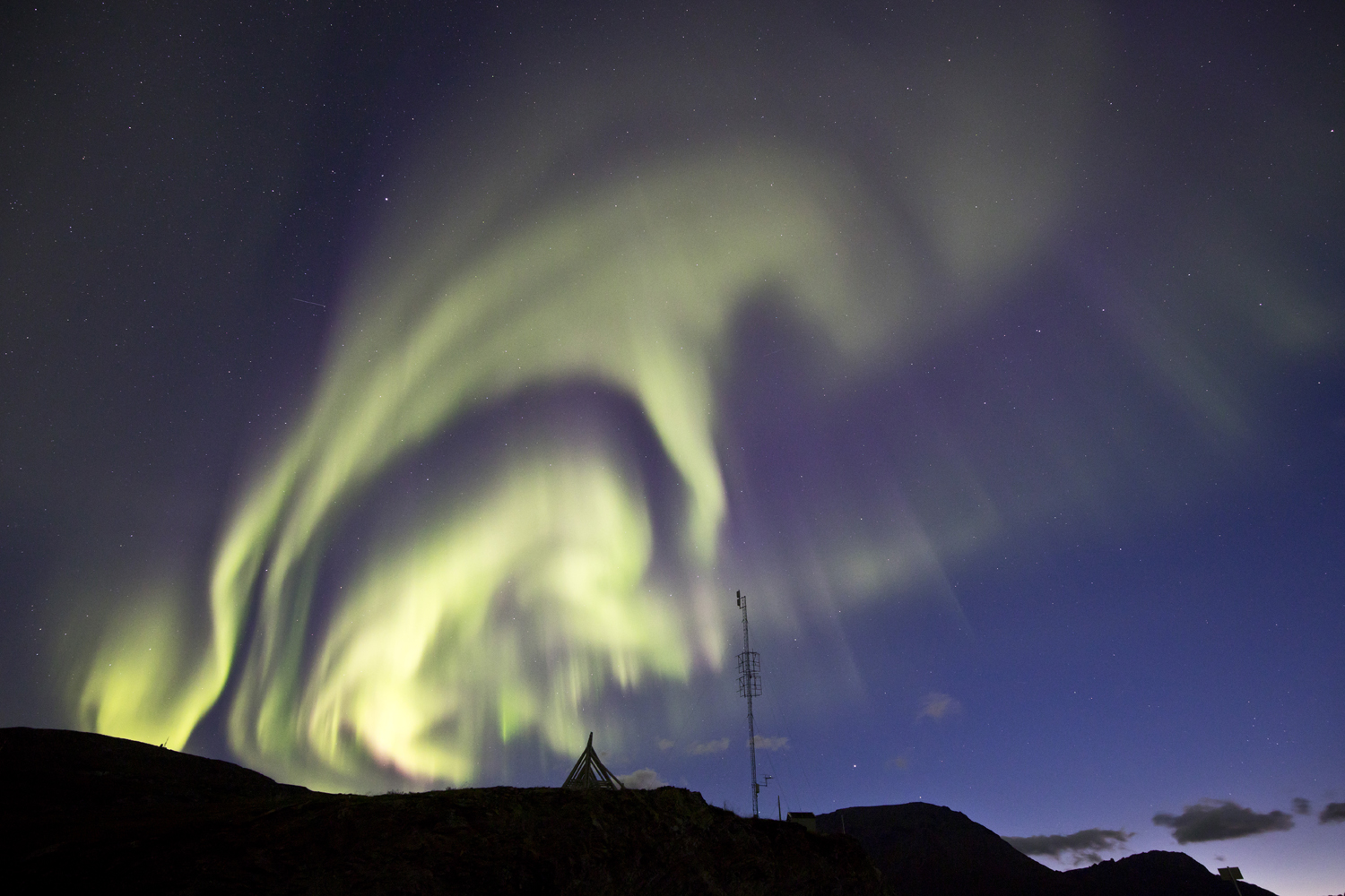 how to photograph northern light