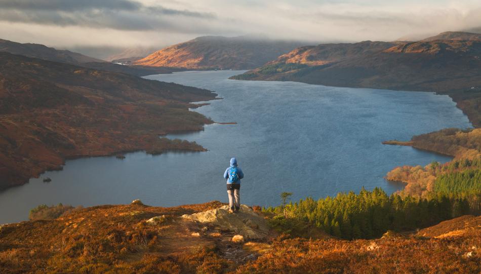 winter hikes scotland